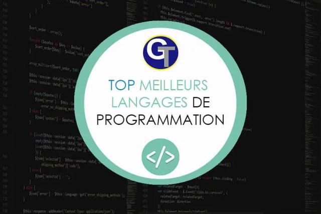 Top 5 Meilleurs Langages De Programmation A Choisir En En 2019