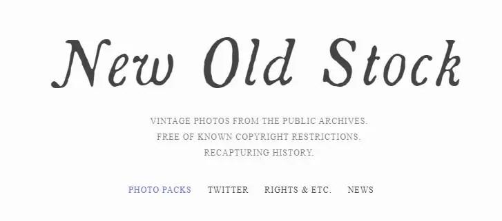 New Old Stock pour des photos gratuites Vintage