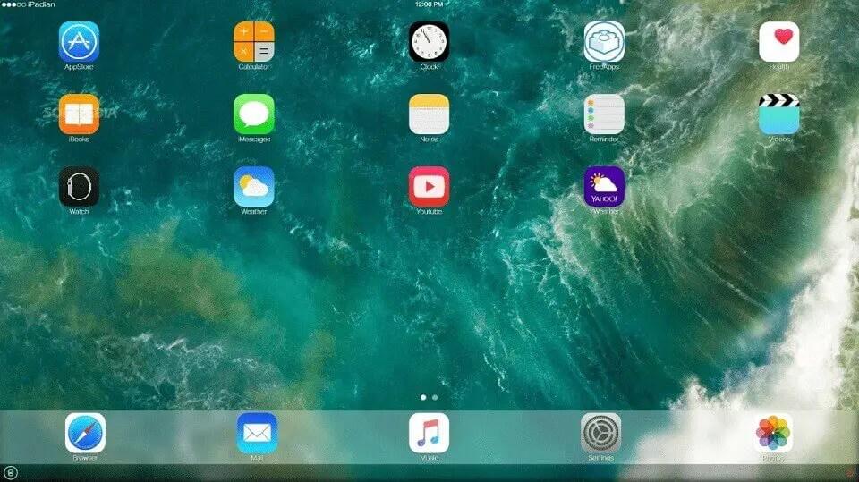 iPadian : émulateurs iOS