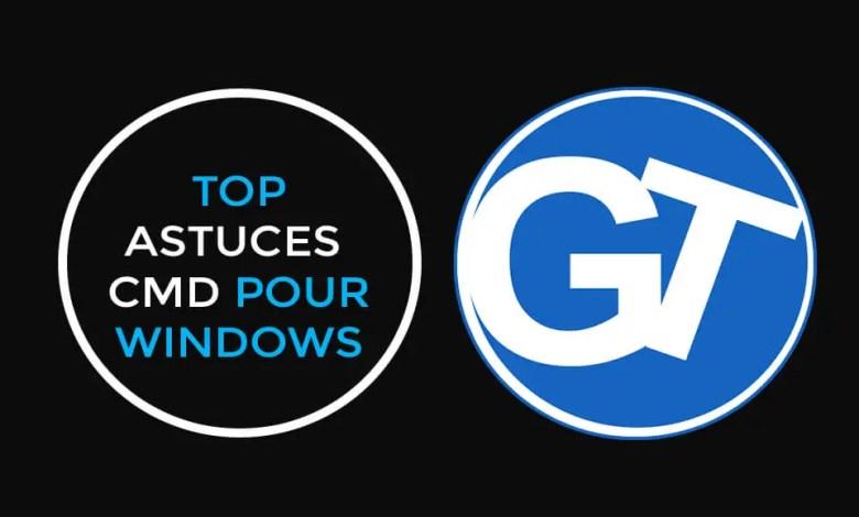 10 Astuces CMD ou invite de commandes Windows que vous ignorez peut-être