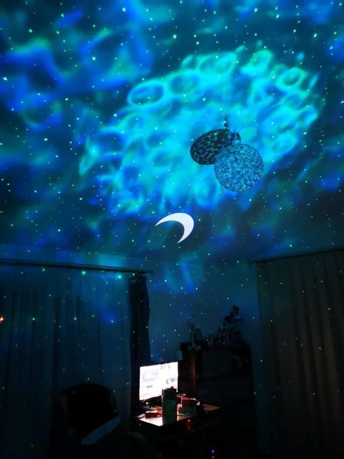 Galaxdream night light projections