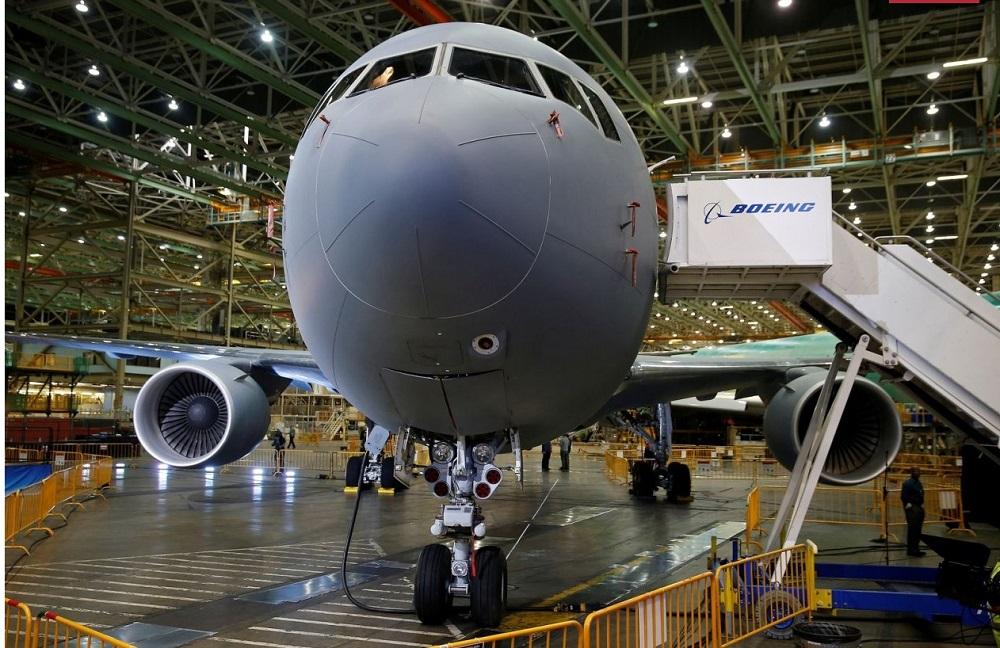 Israel pede para acelerar as entregas dos KC-46A. Ainda não foi assinado o contrato da compra de oito KC-46 (Foto: Boeing).