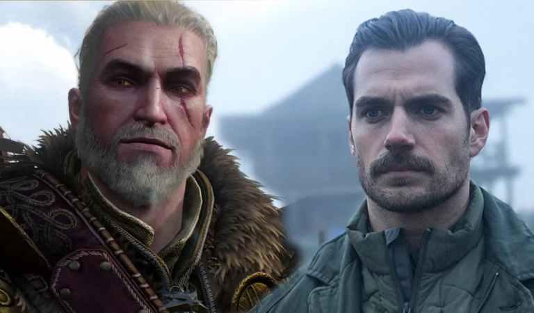 Primeira imagem de Henry Cavill como Geralt
