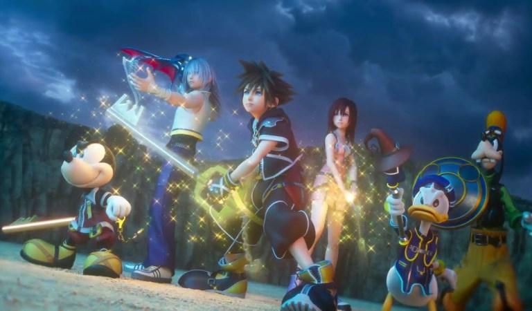 Square Enix divulga trailer cinemático de Kingdom Hearts III