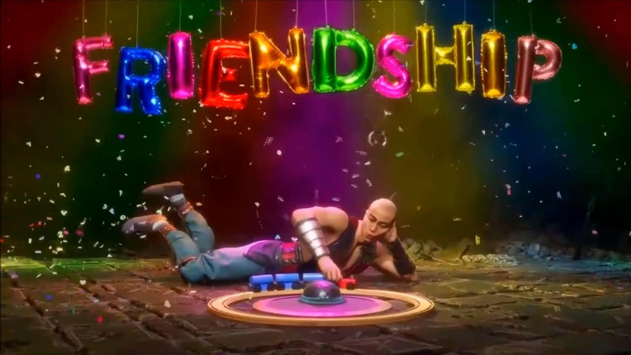 Mortal Kombat 11: Aftermath friendships