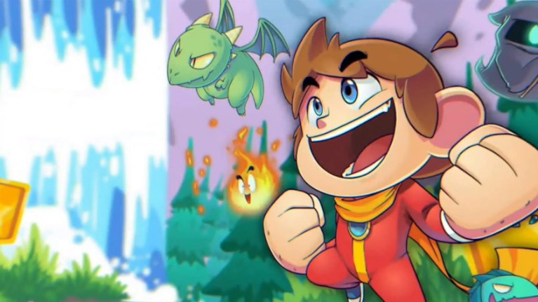 Alex Kidd no Miracle World DX