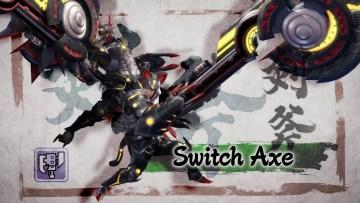 Monster Hunter Great Sword e Switch Axe