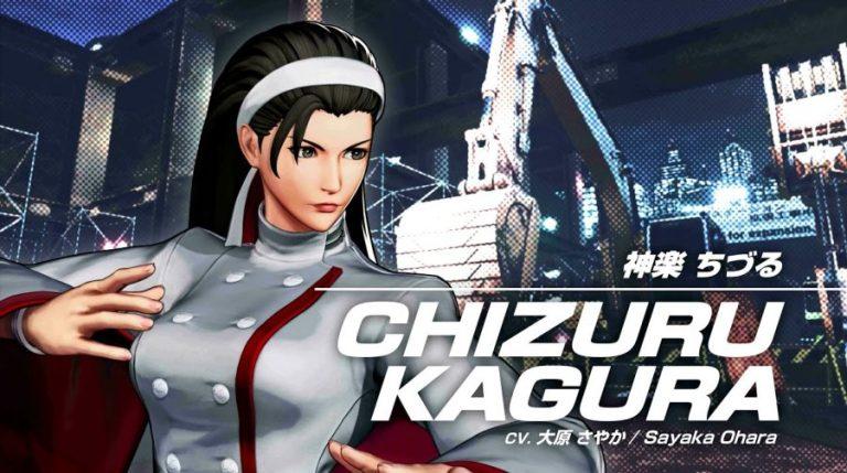 The King of Fighters XV Chizuru Kagura