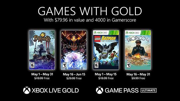 Games With Gold de Maio de 2021