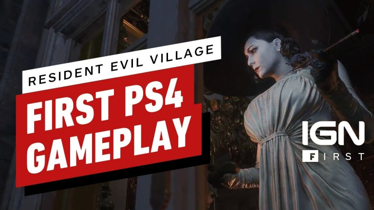Resident Evil Village no PS4