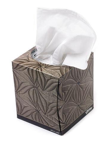 das Papiertaschentuch