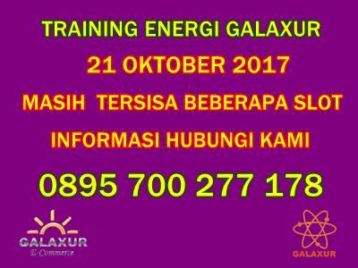 Training Energi Galaxur okt 2017