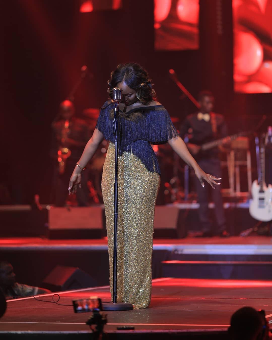 Rema on stage