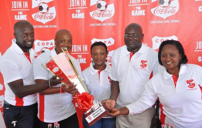 Copa Coca Cola title