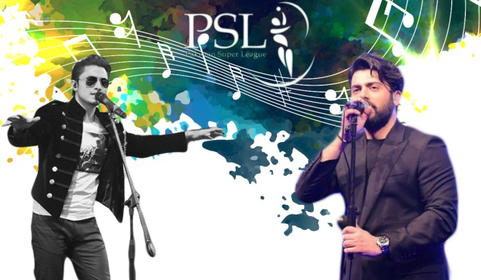 Fawad Khan song PSL 4