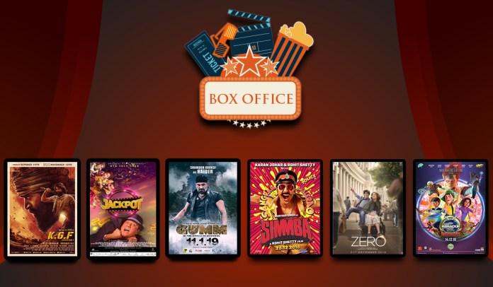 box office 5 Jan 19 - 17 Jan Jan 19