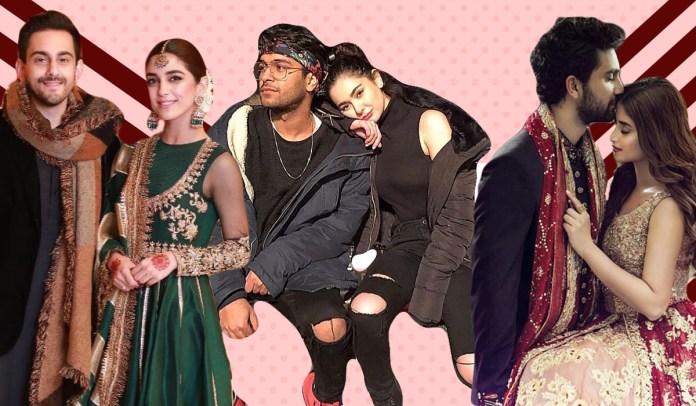relationships Pakistani celebrities