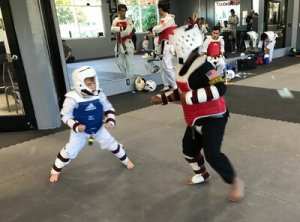 1st annual sparring tournament