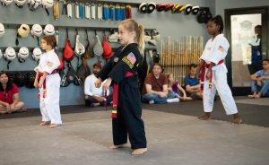 red-black belt test day