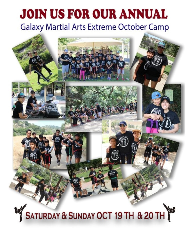Galaxy Martial Arts Camp October 2019