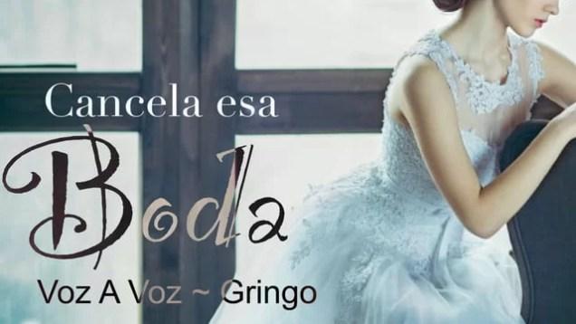 El Gringo ft. Gio Voz a Voz – Cancela esa Boda