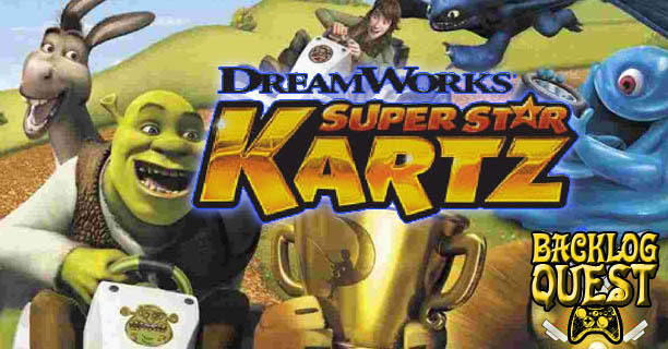 Backlog Quest: Day 23 – Dreamworks Superstar Kartz – Mario Kart it is not