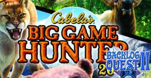 Day 1: Cabela's Big Game Hunter 2012 - Still hating big cats