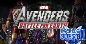 Day 17 – Marvel Avengers: Battle for Earth – Assemble in front of the Kinect