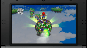 Giant balls - one of many things Luigi becomes in his incredibly Freudian dreams.