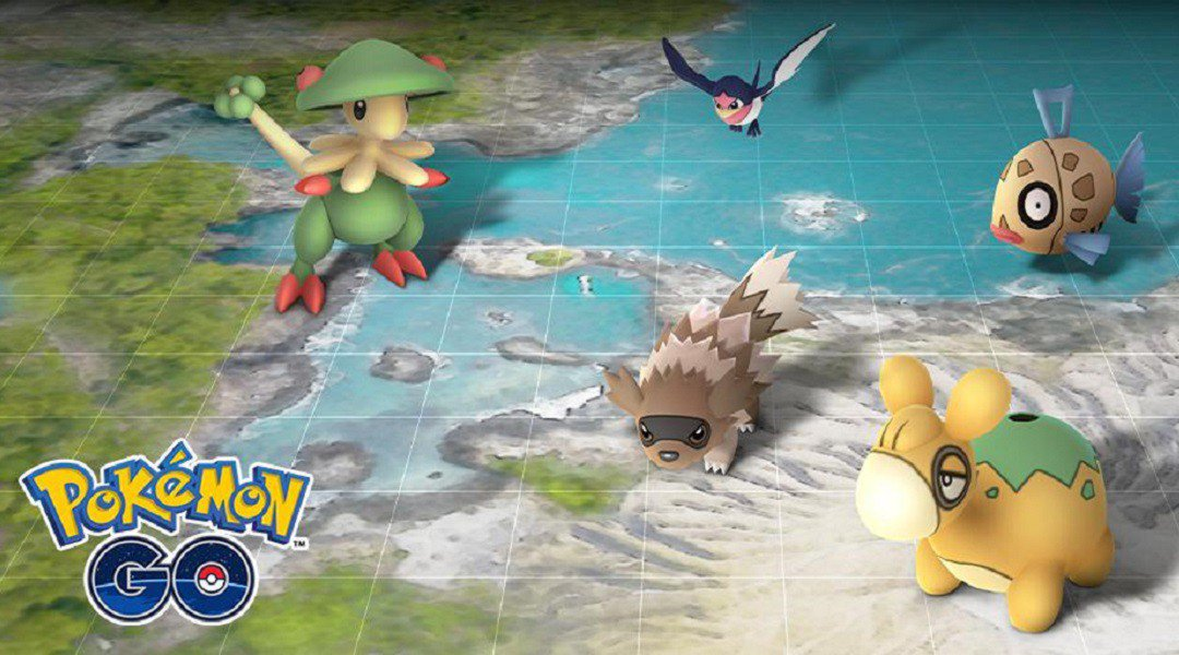 Hoenn Event Starts Today – Pokemon Go