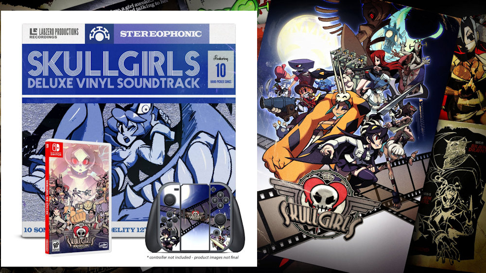 SKULLGIRLS Limited Edition Physical Release on Switch!