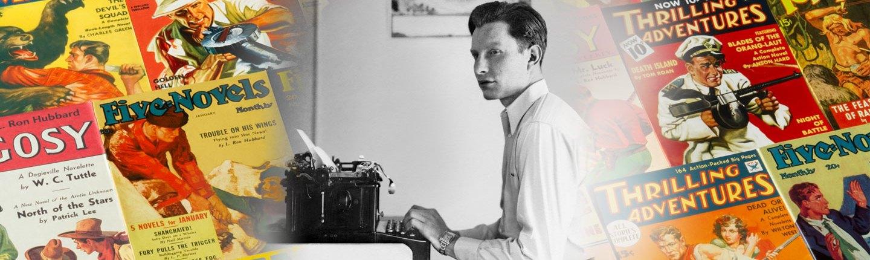 L. Ron Hubbard, New York, circa 1935