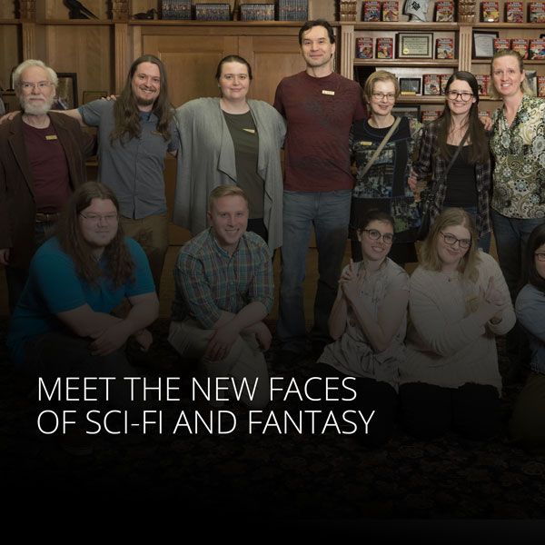Meet the New Faces of Sci-Fi and Fantasy