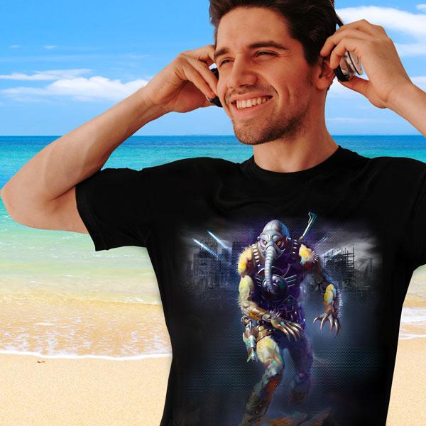 Battlefield Earth free t-shirt offer