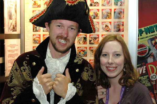 Pirate at the 2010 American Library Association show