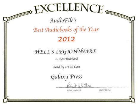 Hell's Legionnaire Audiobook of the Year 2012
