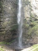 This being the bottom of the bottom falls. Waters are surprisingly quite rough right underneath the spray.