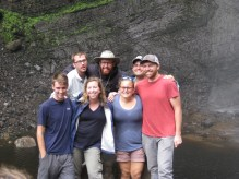 7 of the 9 new volunteers who will be stationed here in the Amazonas region: Lucas, Tony, Katie, Brad, Madeline, Jacob, and Josh.