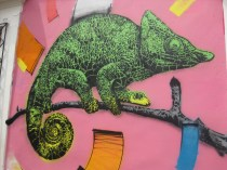Street art around Bogota