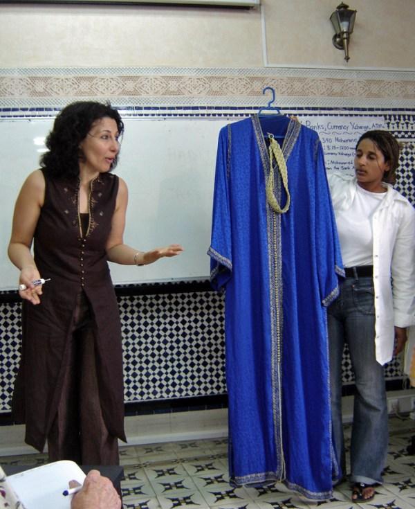 Fashion Show for the Elderhostel program, Rabat, Morocco ...