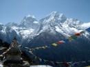 Prayer flags, Khumbu Region, Nepal