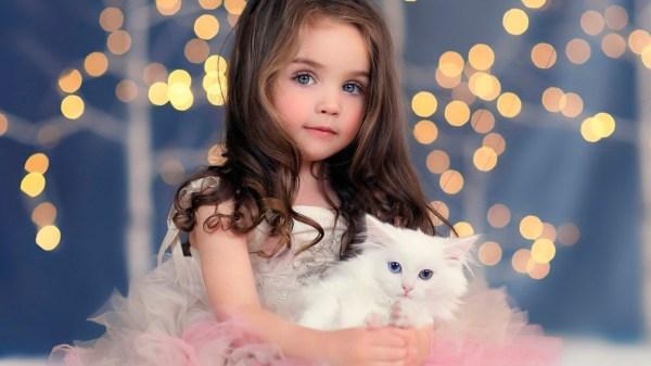 Маленькая красивая девочка – Telegraph