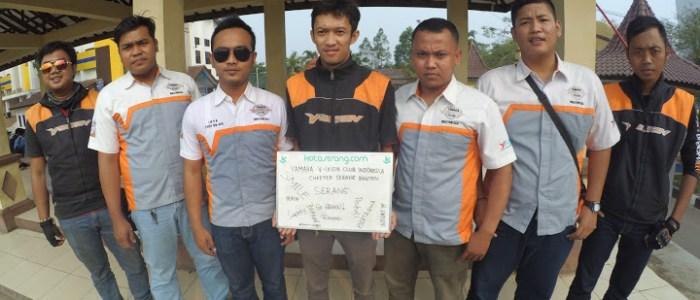 PanTulKotaserang Versi Komunitas Yamaha Vixion Club Indonesia (YVCI) Chapter Serang Banten