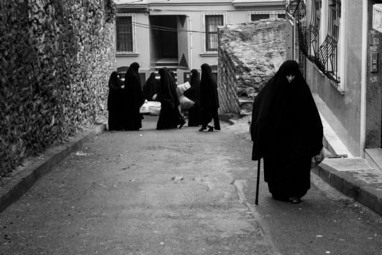 Kara Çarşaf - Fotoğraf: Gulsun Arslan
