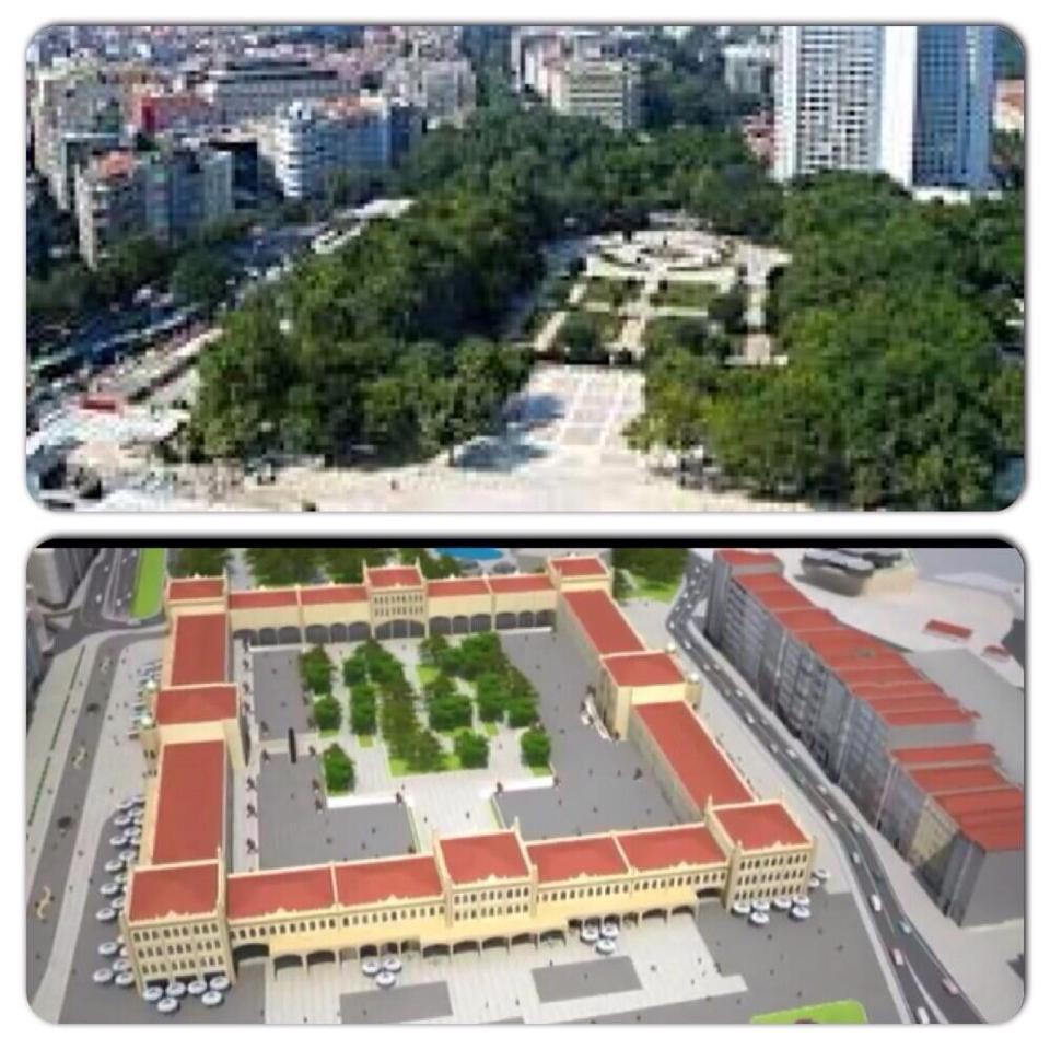 Proyecto parque Gezi