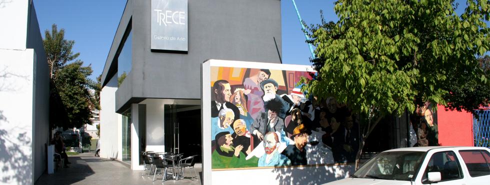 Acceso Girardi Galería de Arte Trece