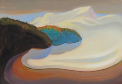 Norte, 2017. Óleo sobre lienzo 38 x 55 cm