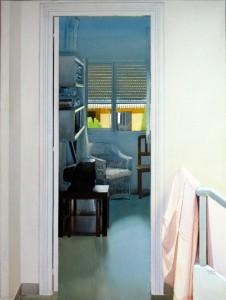 Puerta, mañana. 130 x 97 cm. 2014¡