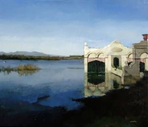 Lago de Banyoles, C.49 (65x73 cm)