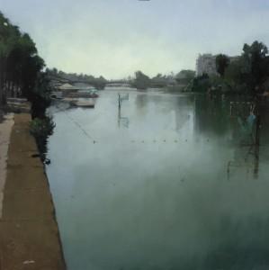 Río y Ciudad, C.72 (81x81)